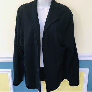 Talbots Black Cardigan Jacket
